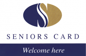 Present your Seniors Card when you arrive